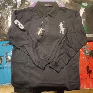 Mens Long Sleeve Polo Ralph Lauren Shirt